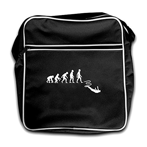 Jump Of Black Evolution Retro Man Black Flight Bungee Bag p1nnAwtqFx