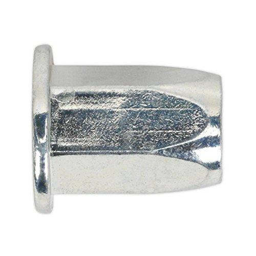 Sealey Tifhm5/filet/é Insert Rivet /Écrou M5/compl/ète hexagonale Standard Bride Lot de 50