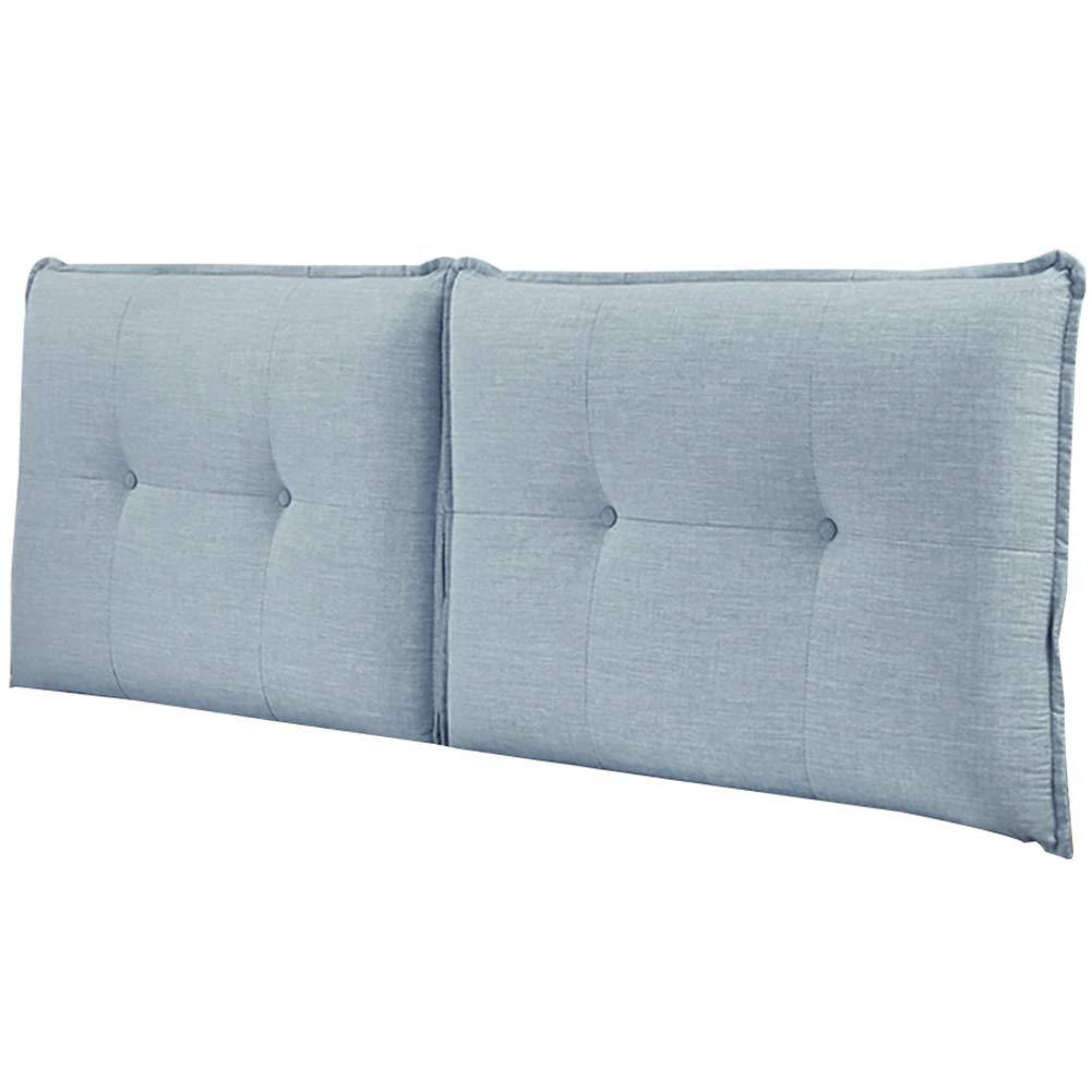 GUOWEI ベッドサイドクッション ベッド用張り布 ヘッドボードなし 背もたれサポート ソフトケース リネン生地 8サイズ 7色 190x60x10cm 190x60x10cm A B07MWC1Y19
