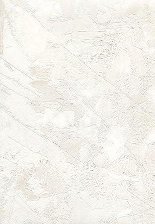 Papier Peint Uni Blanc Perle En Vinyle Effet Peinture Dcorative