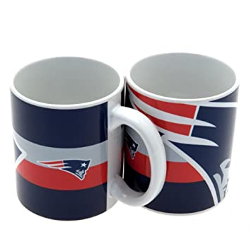 NFL Kaffeetasse Big Crest 300 Ml New England Patriots: Amazon.de ...