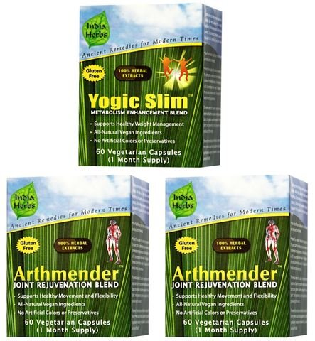 Supreme Joint and Bone Program for Inflammation, Discomfort, and Pain Relief, 180 Capsules by India Herbs (Image #3)