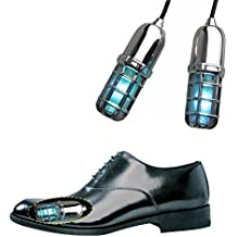 NinKe Ultraviolet (UV) Shoes Sanitizer Sterilizer 15 Minute Eliminates 99.9% Bacteria Fungus and Naturally Deodorize for Foot Healthy
