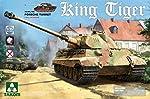 Takom 2074 WWII German Heavy Tank Sd.Kfz.182 King Tiger Porsche Turret w/Interior 1/35 Scale Model Kit from Takom