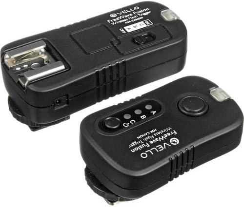 Vello FreeWave Fusion Wireless Flash Trigger /& Remote Control for Canon SLR