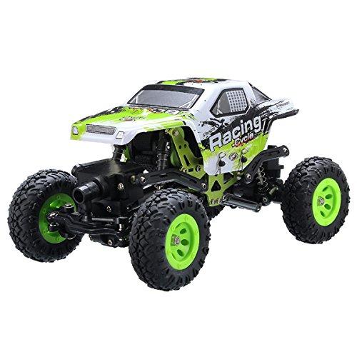WLtoys 24438 1/24 1:24 2.4G 4WD Off-Road Remote Control Car Toys RTR Rock Crawler RC Racing Car Radio (Rtr 1 Remote Control Antenna)