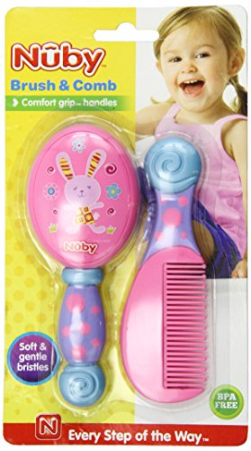 Nuby Brush Comb Colors Vary