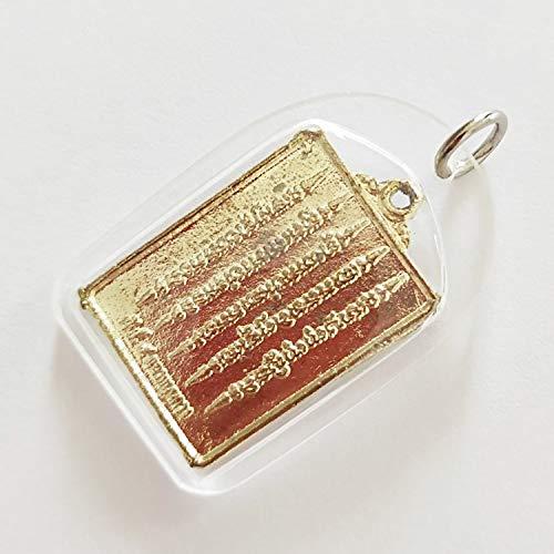 Heavens Tvcz Yantra 5 Rows Gold Talisman Thai Amulet Pendant Magic Diamond Armor Mantra