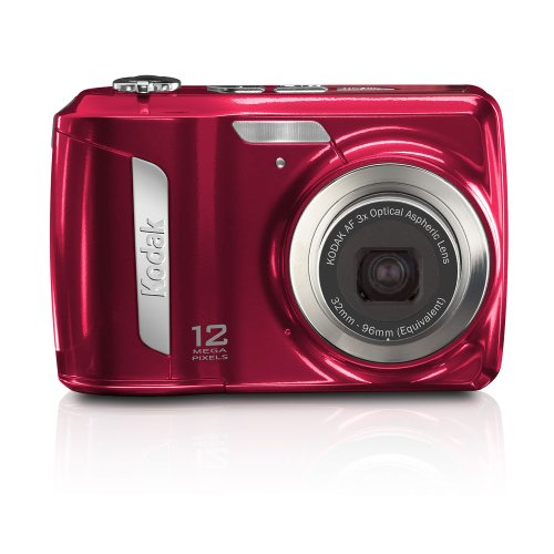(Kodak Easyshare C143 Digital Camera (Red))