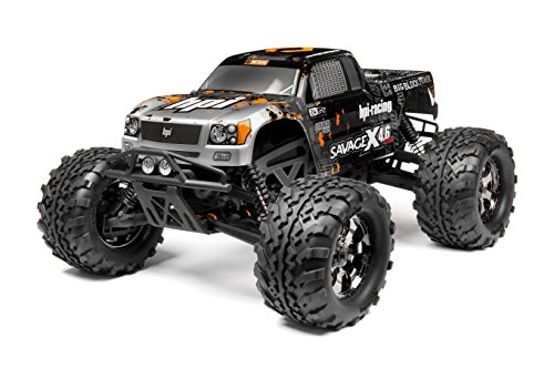 HPI Racing 109083 RTR Savage X 4.6 2.4Ghz RTR Truck, 1/8 Scale ()