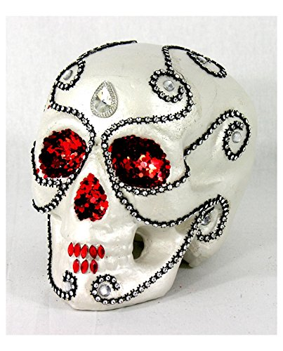 [Day of the Dead Sugar Skull Decoration] (Disneyland Haunted Mansion Costume)