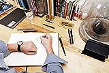 rOtring Tikky Fine Liner Fiber Tip Graphic Pen, 0.4 mm, Black Ink