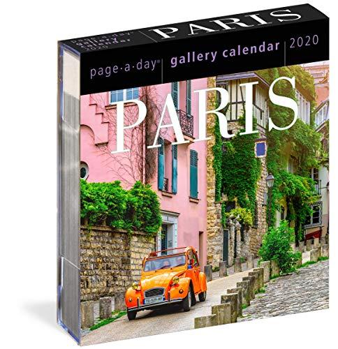 Paris Page-A-Day Gallery Calendar 2020 ()