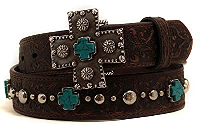 Ariat Accessories Women's Braided Concho Buckle Belt