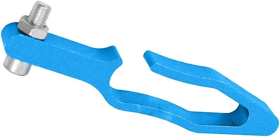Staffa Supporto Cavo Contachilometri Montaggio Forcella Motociclo Blu
