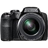 """Fujifilm FinePix S9800 - Cámara compacta de 16.2 Mp (pantalla de 3"""", zoom óptico 50x, estabilizador óptico), negro"""