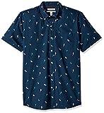 Goodthreads Men's Standard-Fit Short-Sleeve Printed Shirt, Birds, XX-Large