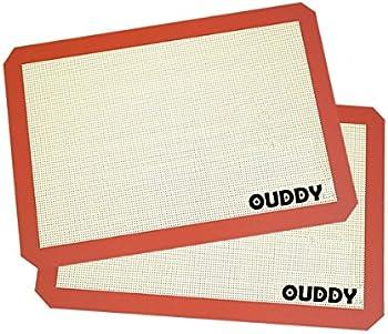 2-Set Ouddy Non-Stick Baking Mat