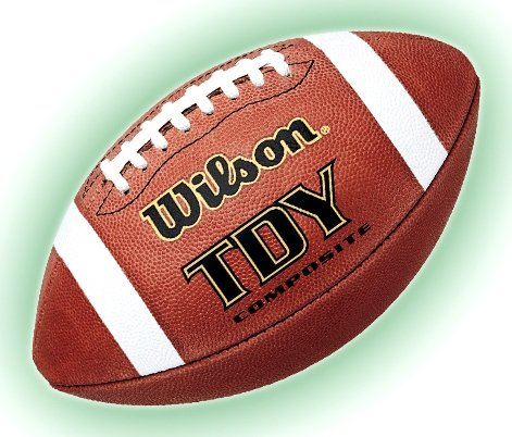 Wilson Tdy Composite Football - Wilson TDY Composite Football