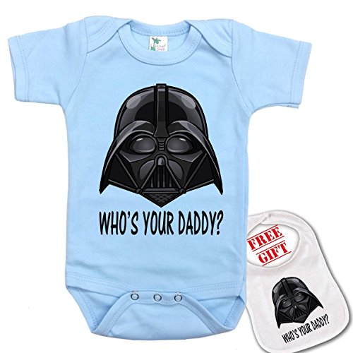 Daddy Darth bodysuit onesie matching