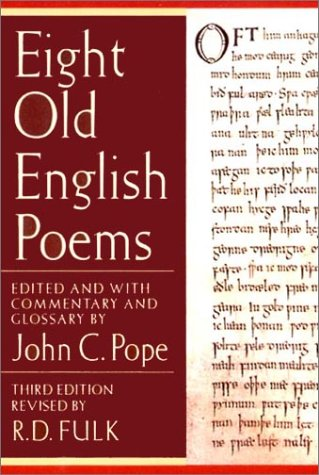 Eight Old English Poems (Third Edition)