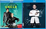 Secret Service Spectre Blu Ray James Bond 007 & The Man From U.N.C.L.E. Blu Ray+ DHD 2 Pack Set