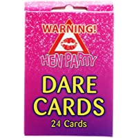 HENBRANDT Great Fun Hen Party Night Girls Night Out Dare Cards