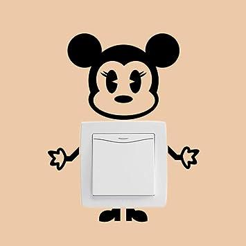 YCEOT Etiqueta de la pared Bebé encantador Mickey Mouse ...