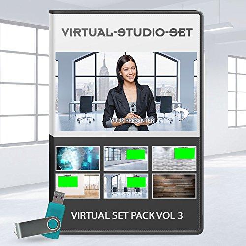 Virtual Set Pack Vol 3 - News Production Background Kit