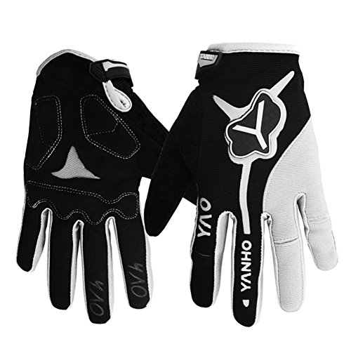 Messagee Outdoor Cycling Gloves Winter Warm Workout Ski Snowboard Full Finger Gloves for Men and Women