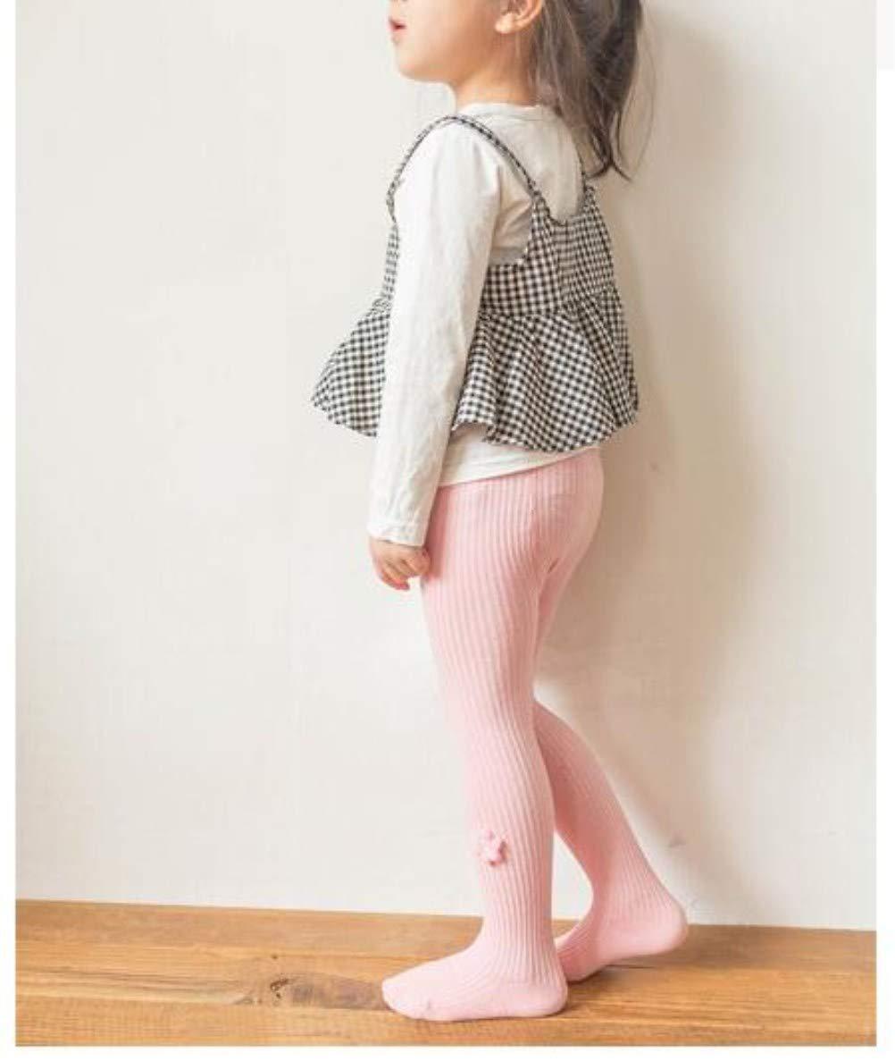 Eilian Baby Girls 4 Pack Cotton Tights Infant Toddler Legging Stocking Warm Pants Flower 0-12 Months