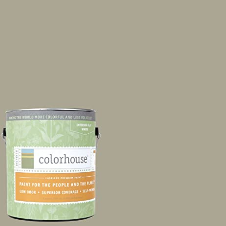 Inspired Flat Interior Paint, Stone .05, Gallon