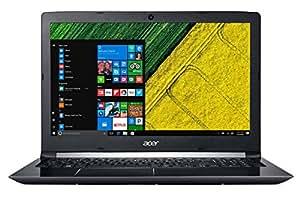 """Acer Aspire 5 A515-51G - Ordenador portátil 15.6"""" HD (Intel Core i7-7500U, 8 GB de RAM, HDD de 1 TB, Nvidia GeForce MX130 de 2 GB, Windows 10 Home) Negro - Teclado QWERTY Español"""