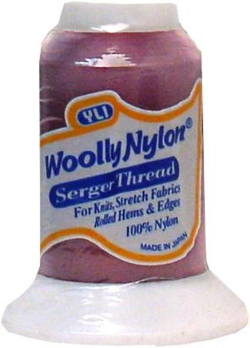 024-1km Burgundy Woolly Nylon