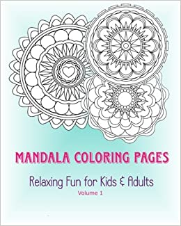Amazon 1 Mandala Coloring Pages Relaxing Fun For Kids