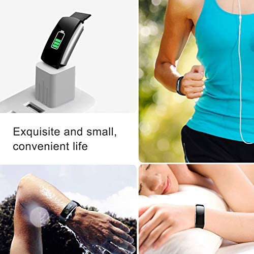 UMO Intelligent Bracelet, Multifunctional Temperature Measuring, Fever Detection Waterproof Smart Watch, Smartband, Heart Rate, Pedometer, Activity & Fitness Trackers 2