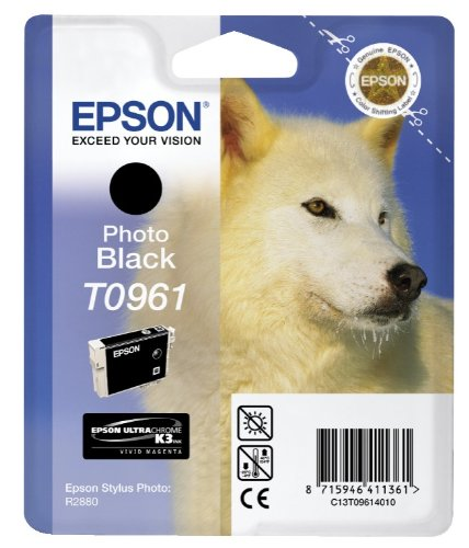 Epson T0961 Photo Black Ink Cartridge