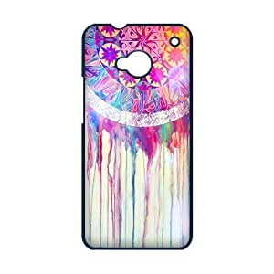 DiyCaseStore Dripping Watercolor Dream Catcher HTC One M7 Well-designed Hard Case Cover Protector