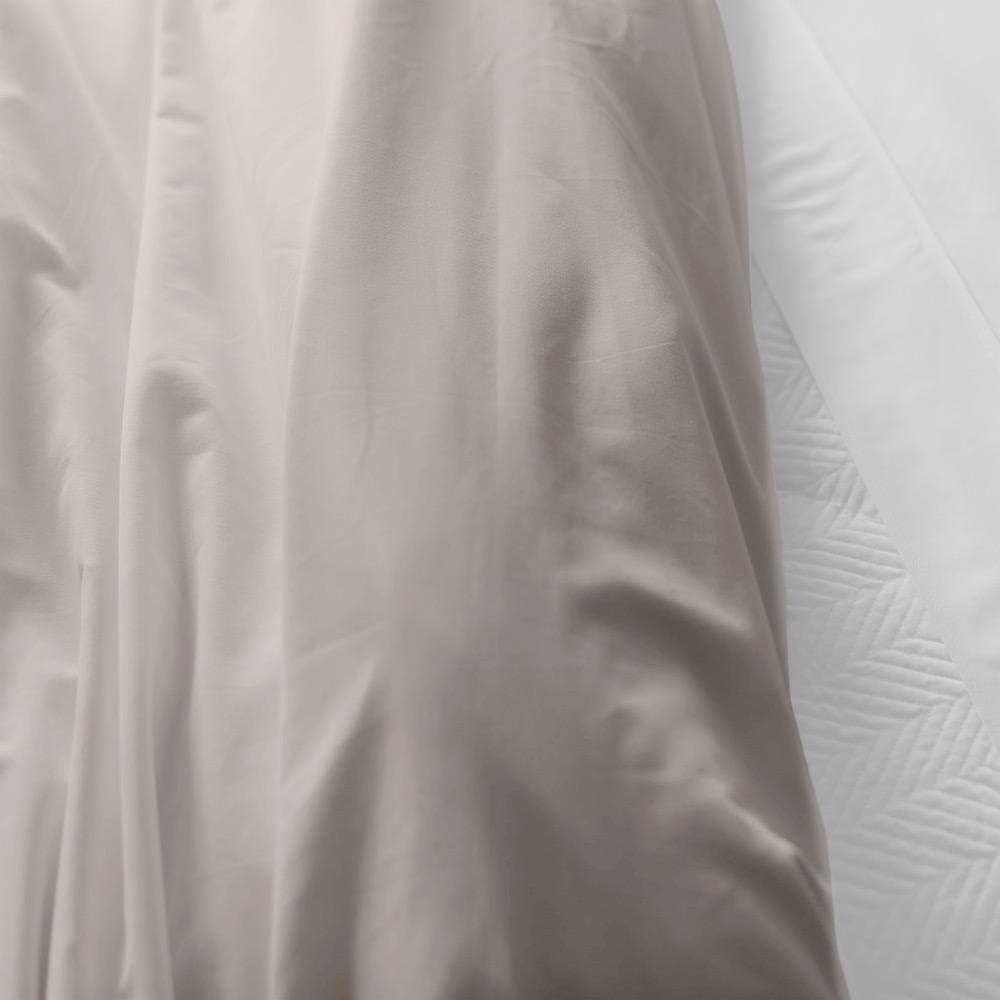 King//California King Ivory Eternal Duvet Cover by Jennifer Adams