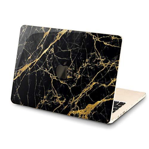Lex Altern New Luxury MacBook Pro 13 inch Case Mac 15 12 11 2018 A1990 A1707 Retina Marble Cover Hard Air Apple Gold Black 2017 2016 Granite Laptop Protective Women Print A1502 Basic Glossy 2015