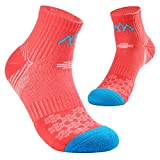 5 Pack Womens Hiking Socks Micro Quarter Crew Cushion Multi Performance Running Camping Sports Thermal Socks