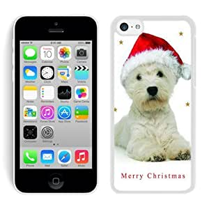 MMZ DIY PHONE CASEPersonalization iphone 6 4.7 inch TPU Case Christmas Dog White iphone 6 4.7 inch Case 2