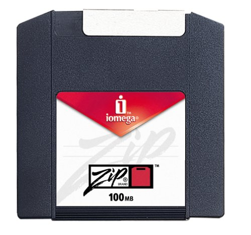 Iomega PC Formatted Zip Disks 100 MB (10-Pack) (reformattable for use on (Iomega Zip 100mb Storage Media)