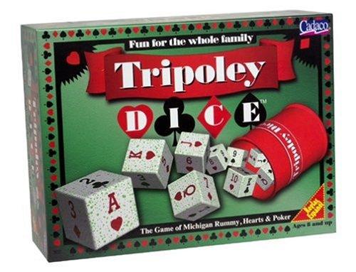 Cadaco Tripoley Dice