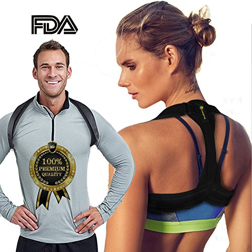 Back Posture Corrector for Women Men Kids, Back Brace,Clavicle Brace,Effective and Comfortable Posture Brace,The Elastic Design of The Back are More Comfortable and Convenient Than The Old Ones. by dobigthing (Image #9)