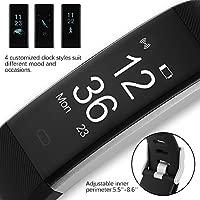 Pulsera Actividad Pulsómetro Inteligente Monitor de actividad Fitness Tracker Smartwatch, Bonega® Monitor De Pulso Cardiaco Activity Health Tracker ...
