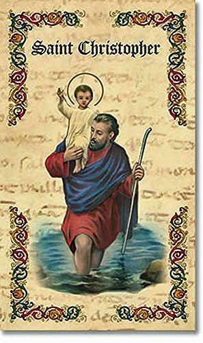 Prayer Folder - Saint Christopher Prayer Folder