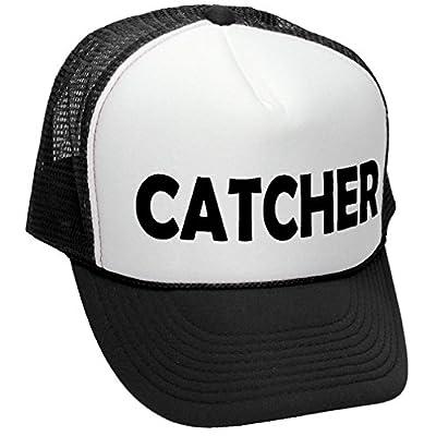 CATCHER - funny doggy style joke gag sex - Adult Trucker Cap Hat