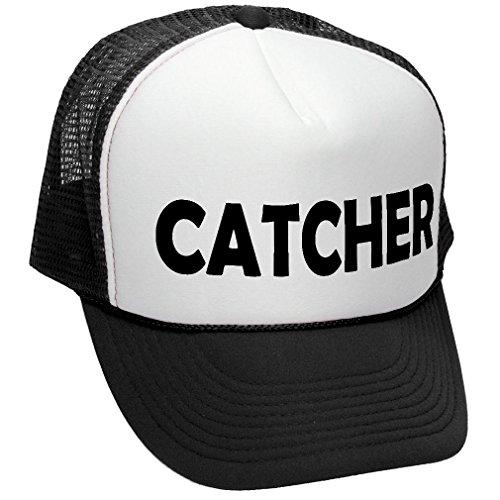CATCHER - funny doggy style joke gag sex - Adult Trucker Cap Hat, (Sex Trucker Hat)
