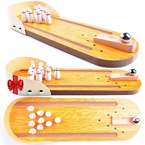kids bowling set with lane - 4